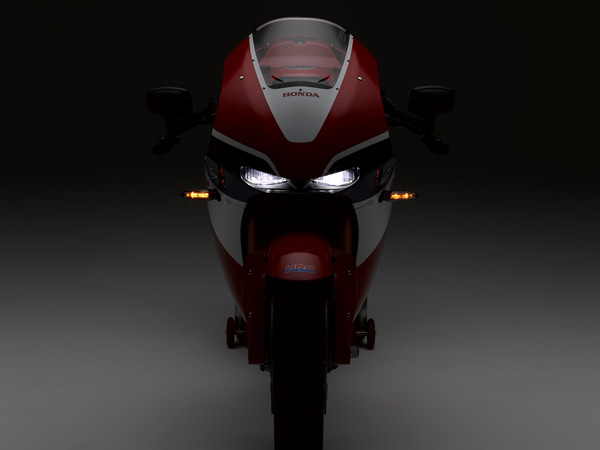 honda rc213v s motorcycle front profile
