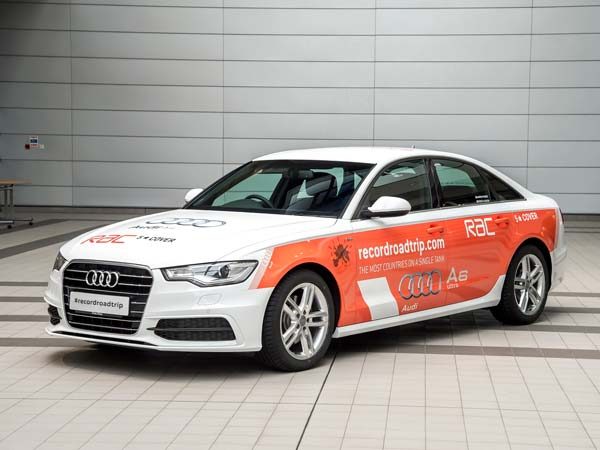 audi a6 ultra world record