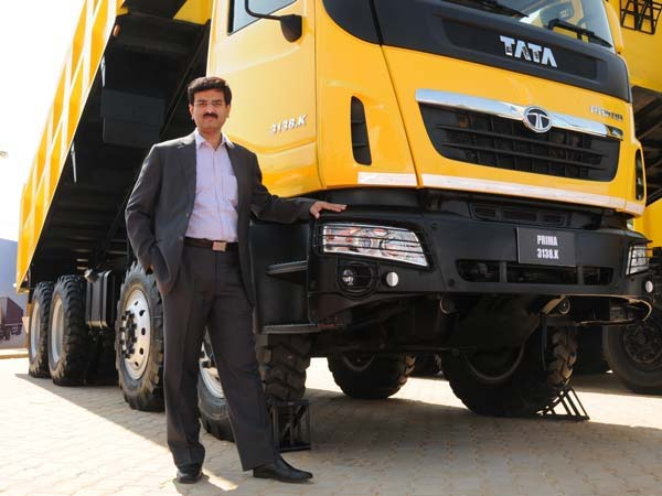 2. Vinod Sahay: Head of Sales and Marketing for Commercial Vehicles, Tata Motors