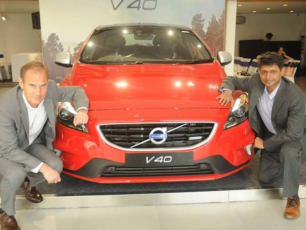 volvo v40 india launch