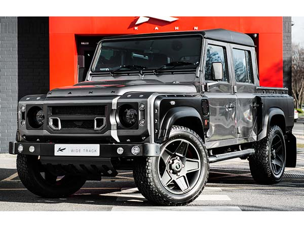 land rover defender double cab kahn design