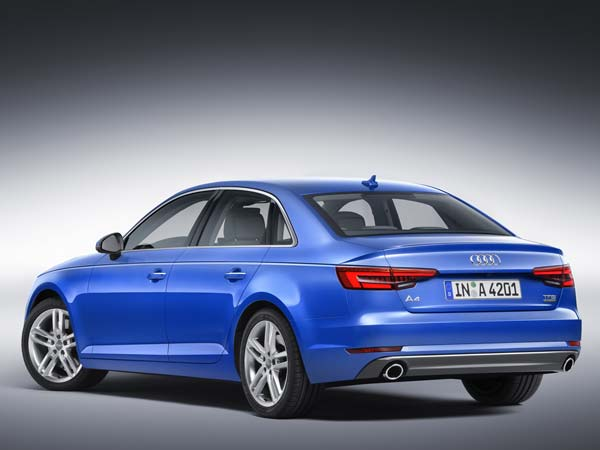 Audi All-New A4 Sedan Revealed Prior To Official Debut!