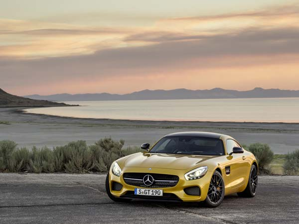 mercedes amg gt india