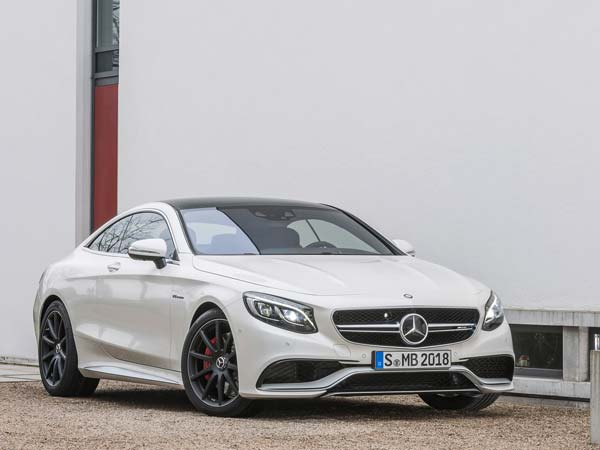 Mercedes-Benz S63 AMG Coupe:
