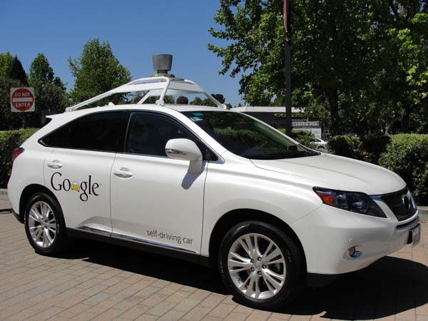 google test self driving cars in texas