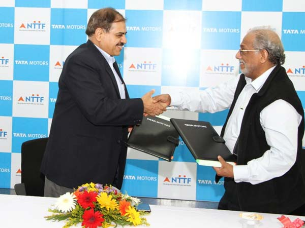 tata motors nttf skill development program