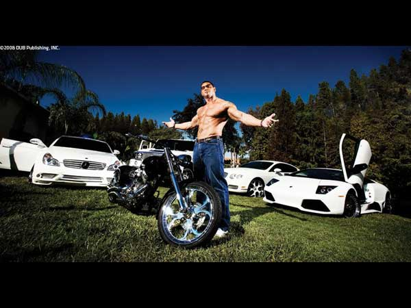 top 10 vehicles owned by wwe superstars till date