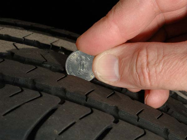 3. Check your tyres