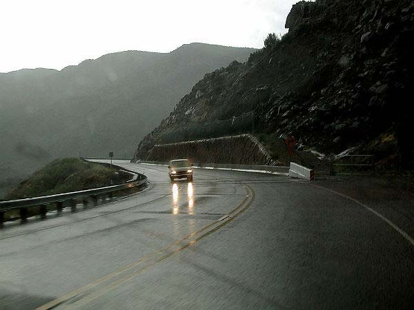 5. Use headlights in rainy conditions