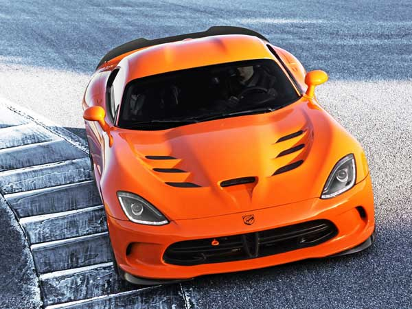In 4th Place is The Dodge Viper!