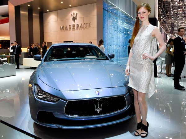 In 7th Place is The Maserati!