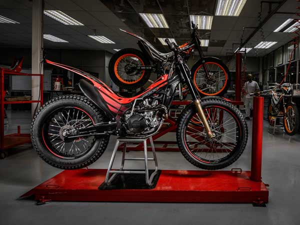 limited edition honda trials motorcycle