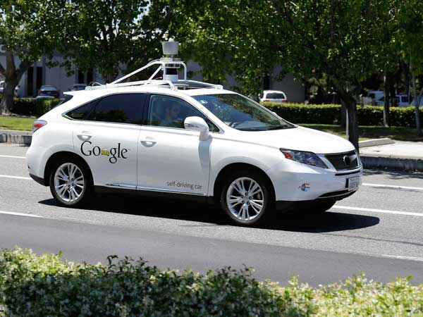 google self driving car accident