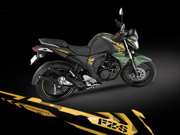 yamaha fz s version 2 0 now available in matt green livery