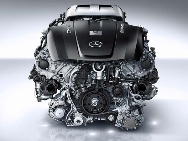 Mercedes AMG Twin-Turbo 4.0-litre V8 Engine!