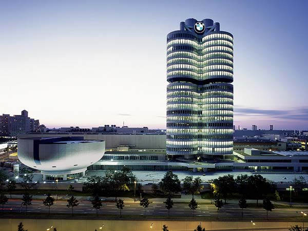 4. What makes the BMW headquarters so special?