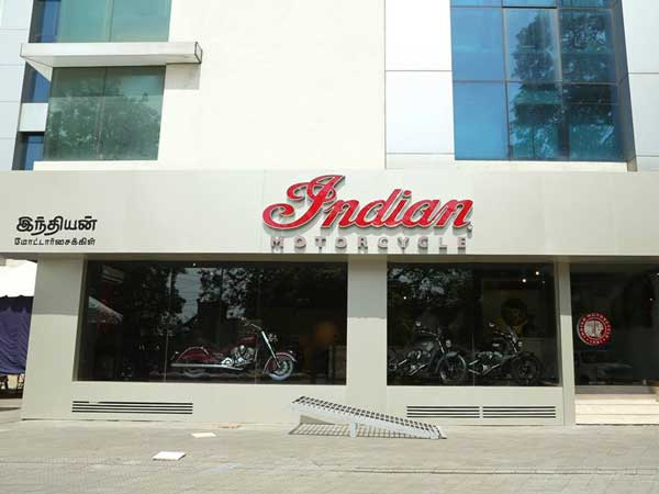 indian motorcycle chennai dealership