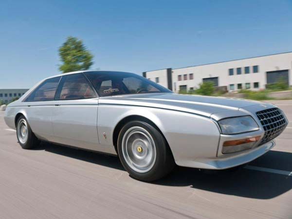 ferrari pinin four door concept car