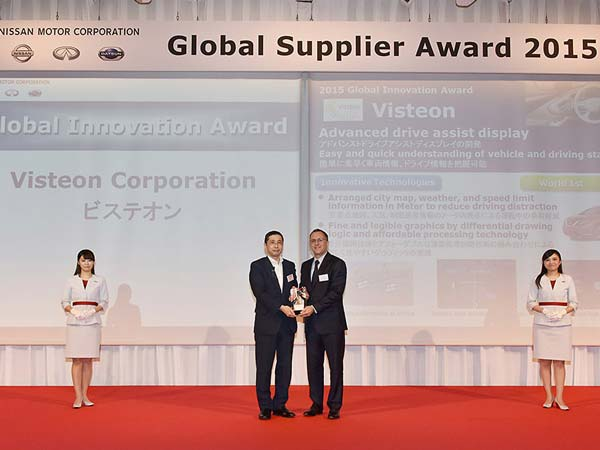 visteon awarded by nissan