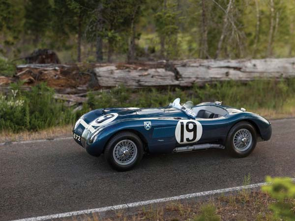 jaguar c type to be auctioned