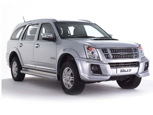 isuzu mu 7 now available with amt for india at inr 23 90 000 rh drivespark com All New Isuzu MU-7 Mu Club 7
