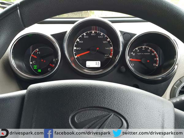 9. Redesigned Instrument Cluster