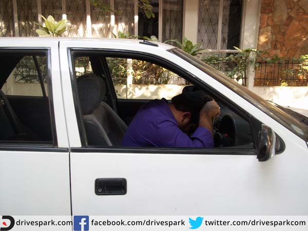 3. If tired, roll up windows and take the keys away from the ignition