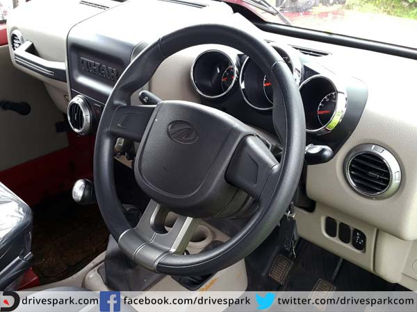 11. New Steering Wheel