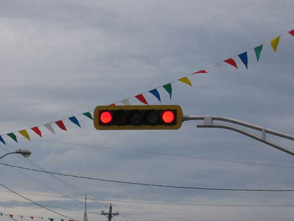 8. Jumping signals or stopping at a red light only when police are there: