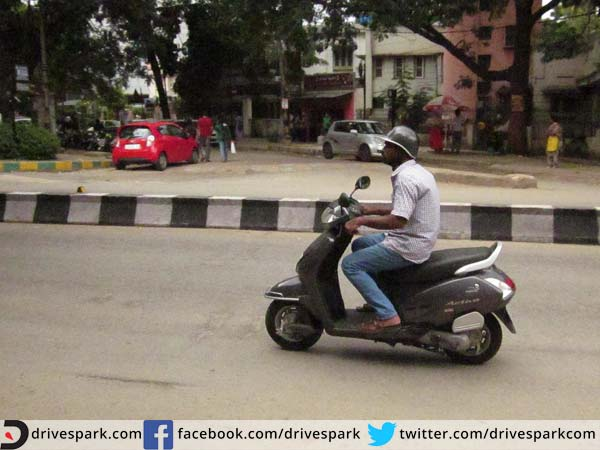 10. We avoid safety riding gear on two-wheelers
