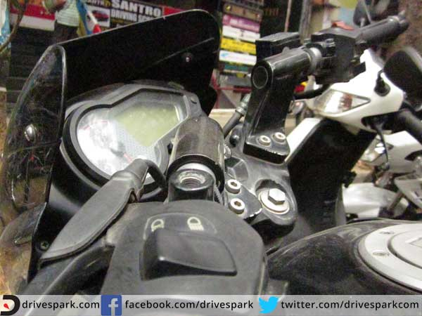 8. We remove rear view mirrors on two wheelers