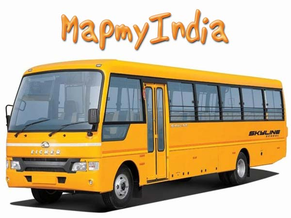 map my india ve commercial vehicles partnership
