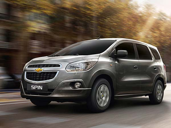 chevrolet spin India