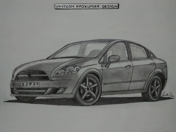 fiat linea sketch limited edition