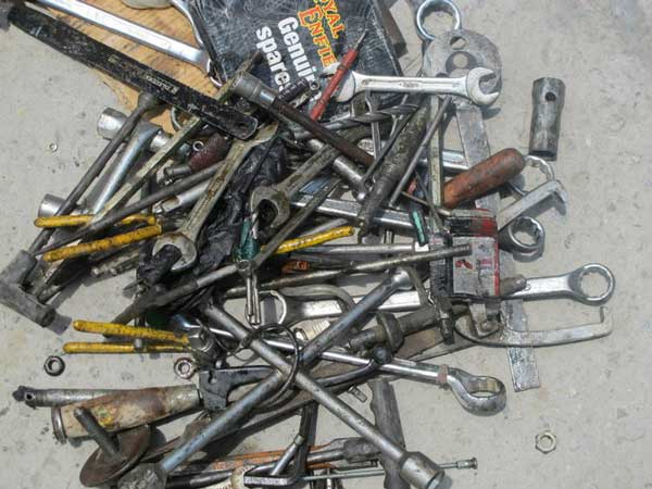7. Tools And Spares: