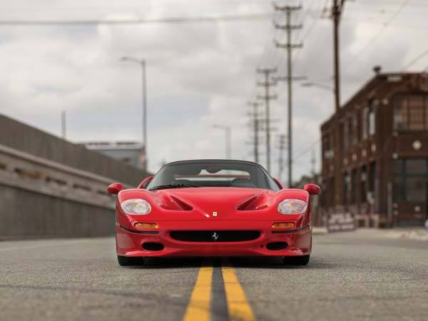 ferrari f50 to be auctioned