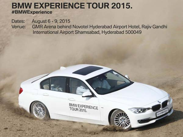 2015 bmw experience tour hyderabad