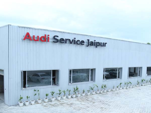 audi pre owned car showroom rajasthan