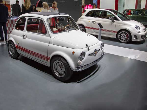 Fiat Abarth 595: Then And Now