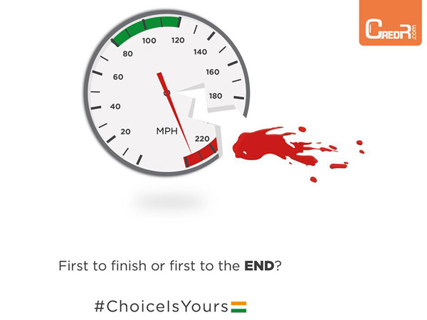 cred r road safety campaign