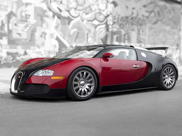 very first bugatti veyron sold