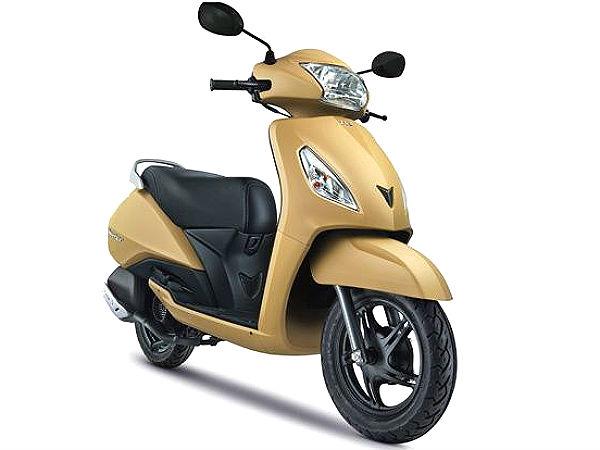 Tvs two wheelers spesifications