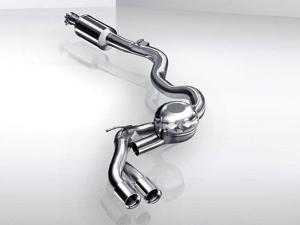 bmw exhaust with speakers