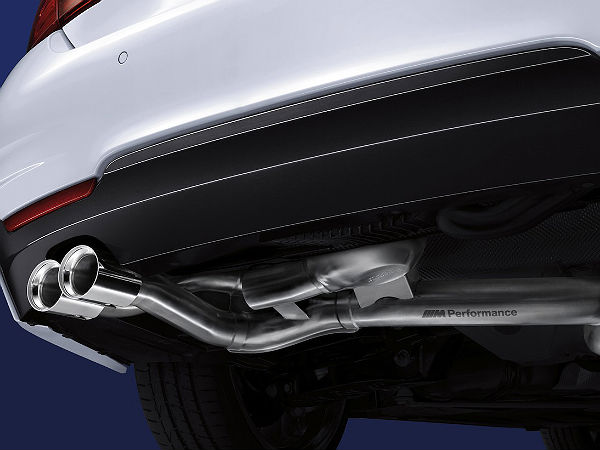 bmw m performance exhaust