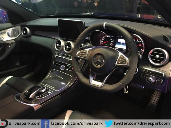 mercedes c63 s features