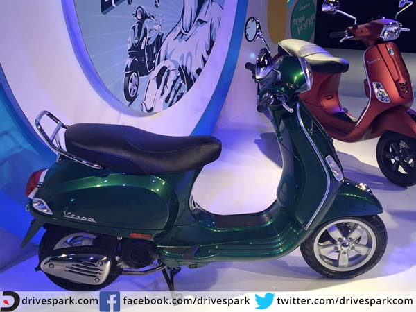 vespa india scooters
