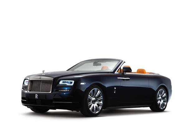 Rolls-Royce Dawn: Front View