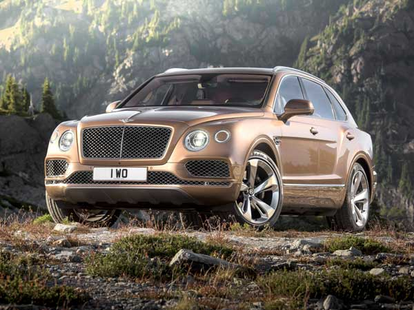 Bentley Bentayga Revealed!