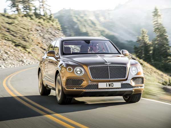 Bentley Bentayga: Front View