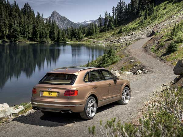 Bentley Bentayga: Rear View